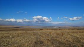 Khakassia Vårlandskap Arkivfoto