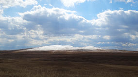 Khakassia Wiosna krajobrazy Zdjęcie Royalty Free