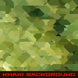 Khaki background with geometric stains Royalty Free Stock Images