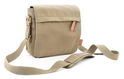 Khaki bag Stock Image