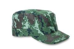 Khaki cap Stock Image