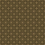 Khaki Colors Art Deco Style lattice Pattern design. Original Pat Stock Image