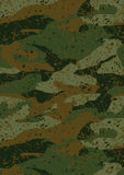 Khaki jungle mud camouflage repeat pattern Stock Images