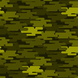 Khaki military camouflage seamless pattern army texture uniform background and clothing fashion material green soldier Royalty Free Stock Photos