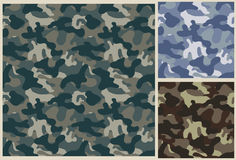 Khaki seamless pattern, camouflage texture Royalty Free Stock Image
