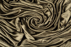 Khaki velvet close-up. Fabric macro for texture and background. Brown silk velvet close-up. Fabric macro for texture and background Stock Photos