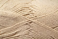 Khaki Yarn Texture Close Up. A super close up image of khaki yarn Royalty Free Stock Photo