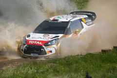 Khalid Al Qassimi in Rally de Portugal 2013 Stock Photos