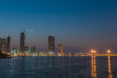 Khalid Lake in Sharjah Royalty Free Stock Photos