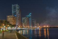 Khalid Lake in Sharjah Stock Photos