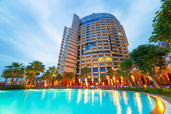 Khalidiya Palace resort in Abu Dhabi, UAE Stock Photography