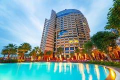 Khalidiya Palace resort in Abu Dhabi, UAE Stock Photography