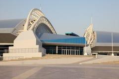 Khalifa体育场在多哈 免版税库存照片