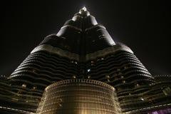 Khalifa Burj, Ντουμπάι - παγκόσμιο πιό ψηλό κτήριο Στοκ Φωτογραφίες