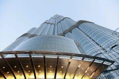 Khalifa Burj, Дубай - здание миров самое высокорослое Стоковая Фотография