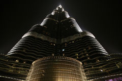 Khalifa Burj, Дубай - здание миров самое высокорослое Стоковые Фото