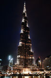 khalifa burj Стоковые Фотографии RF
