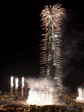 khalifa burj стоковые изображения rf