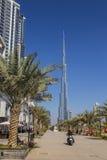 Khalifa di Burj, il più alta costruzione nel mondo Immagine Stock