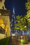 Khalifa di Burj, il più alta costruzione nel mondo Fotografie Stock