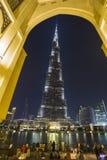 Khalifa di Burj, il più alta costruzione nel mondo Fotografia Stock