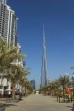 Khalifa di Burj, il più alta costruzione nel mondo Immagine Stock Libera da Diritti