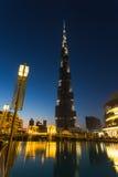 Khalifa di Burj, il più alta costruzione nel mondo Fotografia Stock Libera da Diritti