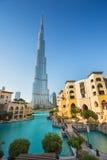 Khalifa di Burj, il più alta costruzione nel mondo Fotografie Stock Libere da Diritti