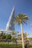 Khalifa di Burj, il più alta costruzione nel mondo Immagini Stock Libere da Diritti