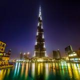 Khalifa Dubaï de Burj Image libre de droits