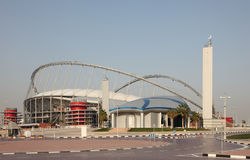 Khalifa International Stadium, Doha Stock Photography