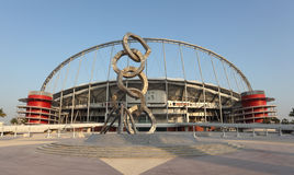 Khalifa internationales Stadion, Doha Lizenzfreies Stockfoto