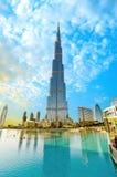 Khalifa Kontrollturm Stockfotografie