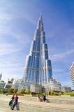 Khalifa Kontrollturm lizenzfreie stockbilder