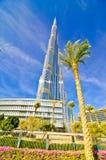 Khalifa Kontrollturm stockfotos
