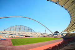 Khalifa sport stadium stock photo