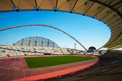 Khalifa Sports Stadium Stock Afbeelding