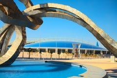 Khalifa Sports Stadium Fotografie Stock