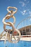 Khalifa Sports Stadium Arkivbilder