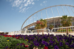 Khalifa Sports Stadium Arkivfoto