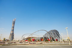 Khalifa Sports Stadium Stock Photos