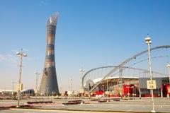 Khalifa Sports Stadium stock photography