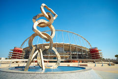 Khalifa Sports Stadium Royalty Free Stock Photography