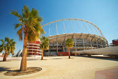 Khalifa Sports Stadium Royalty Free Stock Images