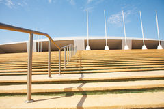 Khalifa Sports Stadium Stock Photo