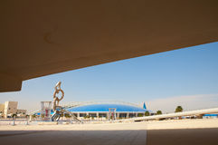 Khalifa Sports Stadium Stock Images