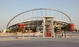 Khalifa Stadium in Doha, Qatar Stock Photo