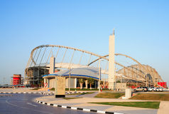 Khalifa stadium and mosque Stock Images