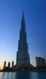 Khalifa Tower. Khalifa (Khaleefah) Tower, the longest building in the world, located in Dubai, UAE Stock Image