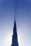 Khalifa tower in Dubai in the early morning Royalty Free Stock Image